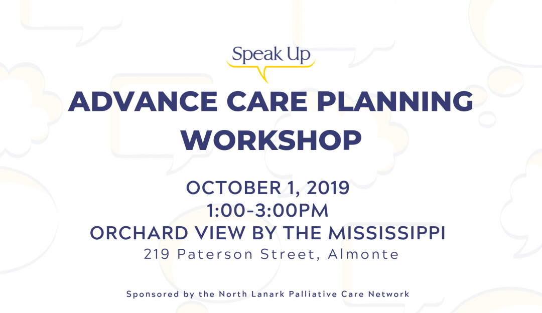 Advance Care Planning Workshop