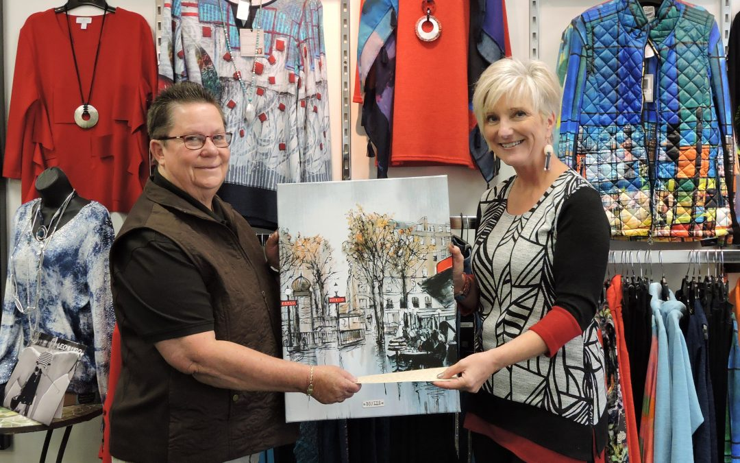 Judy Joannou Donates Proceeds of Silent Auction to Hub Hospice Palliative Care