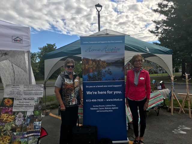 A Successful Almonte Farmers Market Day for Home Hospice North Lanark