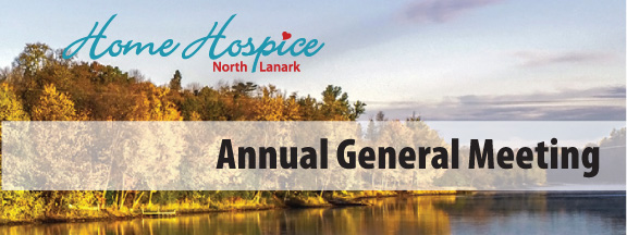 Home Hospice North Lanark Annual General Meeting Moves Online
