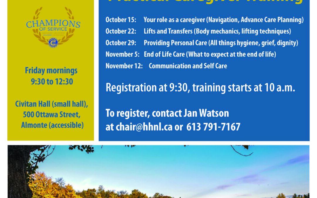 Practical Caregiver Training